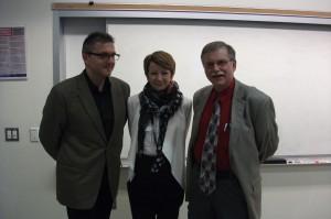 Pawel Stefanski, Aldona Salska, Ron Stoch